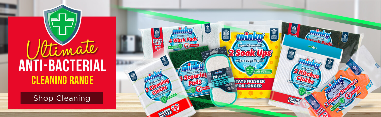 Shop our Anti-Bacterial Range