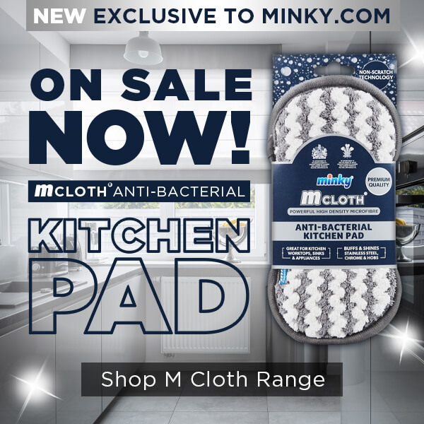 Check out our BRAND NEW M Cloth Antibacterial Kitchen Pad!