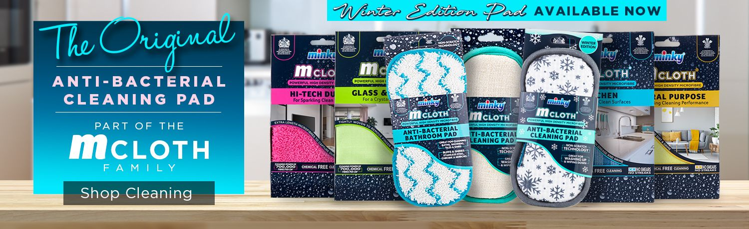 m-cloth the Original Anti-Bacterial Bathroom Pad