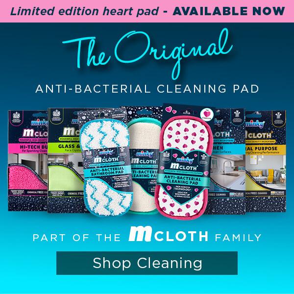 m-cloth Anti-Bacterial Hearts Pad