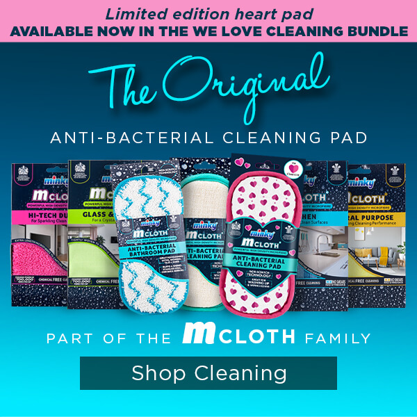 m-cloth Anti-Bacterial Hearts Pad
