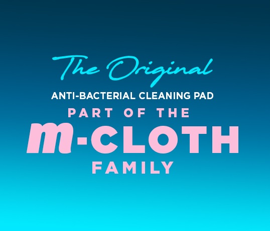 m-cloth the Original Anti-Bacterial Cleaning Pad