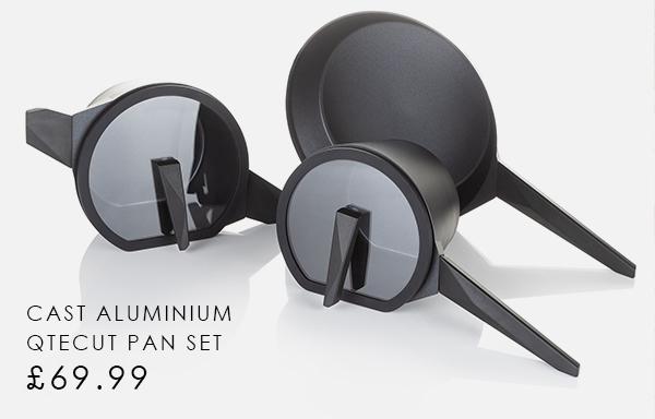 Qtecut Cast Aluminium Pan Set