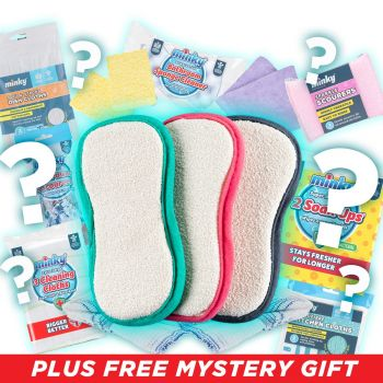 3pk M Cloth Anti-Bac Pad Mystery Bundle