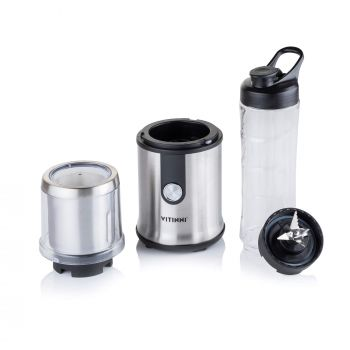 2 in 1 Personal Smoothie Blender with Grinding Cup
