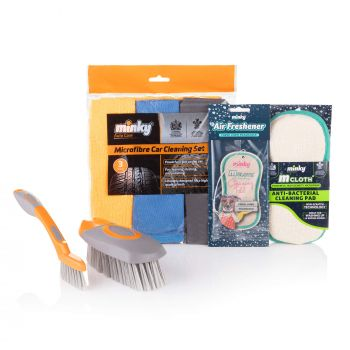 Interior Car Cleaning Bundle – with Minky Air Freshener