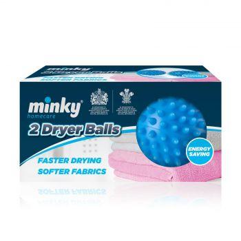 2 Minky Tumble Dryer Balls