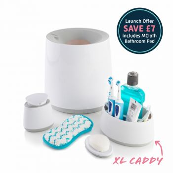 Family Bathroom Accessory Bundle with Free M Cloth Bathroom Pad
