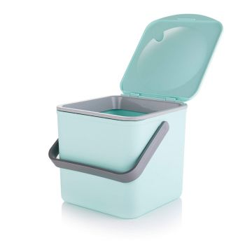 Compost Food Waste Caddy - Pastel Green