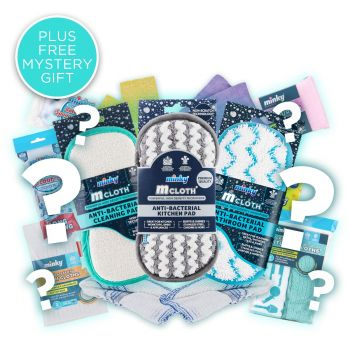 Anti-Bacterial M Cloth Pad Mystery Bundle includes Kitchen Pad