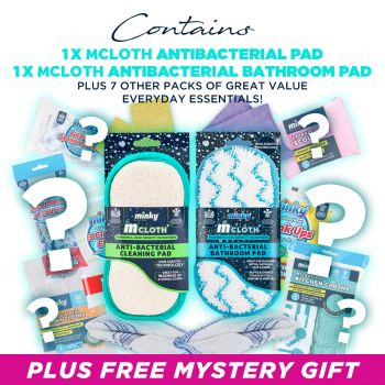 M Cloth Anti-Bacterial Bathroom Pad Mystery Bundle