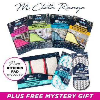 M Cloth Range Bundle includes NEW Kitchen Pad
