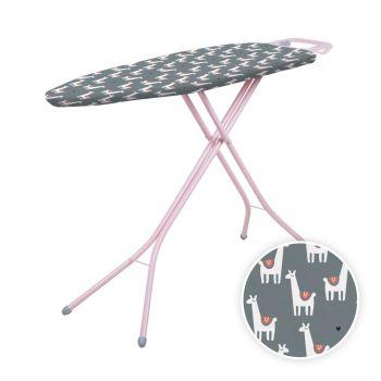 Minky Llama Pink Limited Edition Ironing Board