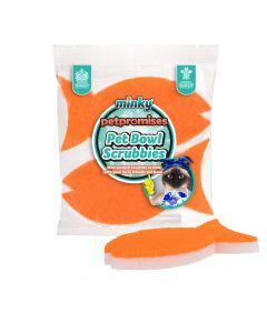 Pet Bowl Scrubbies - 2pk Fish
