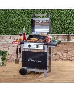 Everest 2 Burner Gas Barbecue