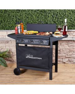Asgard Compact 3 Burner Gas Barbecue