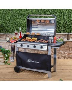 Everest 4 Burner Gas Barbecue