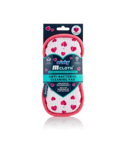 M Cloth Anti-Bacterial Cleaning Pad - Hearts