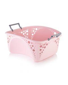 Minky 40L Stackable Laundry Basket Pink