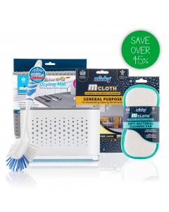 Sink Tidy Bundle with Anti-Bacterial Mat