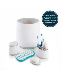 Bathroom Accessory Bundle with Free M Cloth Bathroom Pad