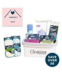 Storage Caddy – Cleaning Starter Kit Bundle – White