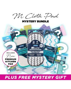Anti-Bacterial M Cloth Pad Mystery Bundle includes NEW Kitchen Pad