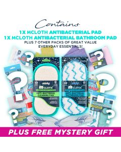 M Cloth Anti-Bacterial Bathroom Pad Mystery Bundle