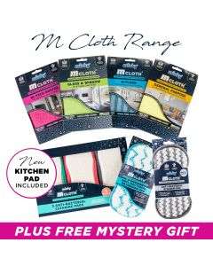 M Cloth Range Bundle includes NEW Kitchen Pad