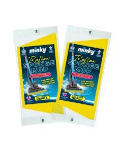 Reflex Sponge Mop Refills 2pk